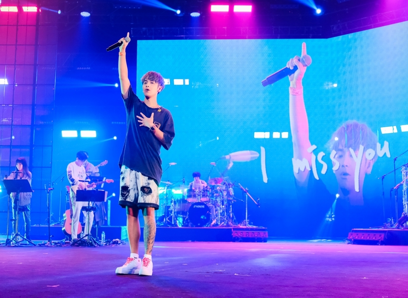 鼓鼓呂思緯北流演唱會大獲好評 訂下目標明年南流見!