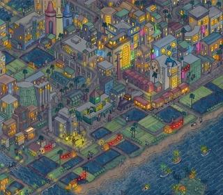 告五人與英國插畫家Tom Parker 跨界神合作 四巡演城市畫作詮釋「在這座城市遇見了你」