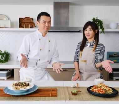 蘇慧倫與全聯先生《爸爸回家做晚飯》PK廚藝  笑稱拿手菜「煮白飯」!
